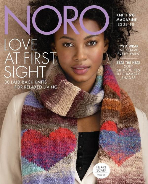 Noro Knitting Magazine Issue 18