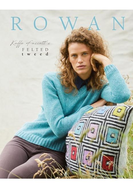 Rowan Book - ZB279 Felted Tweed Colours Collection - Kaffe Fassett & Lisa Richardson