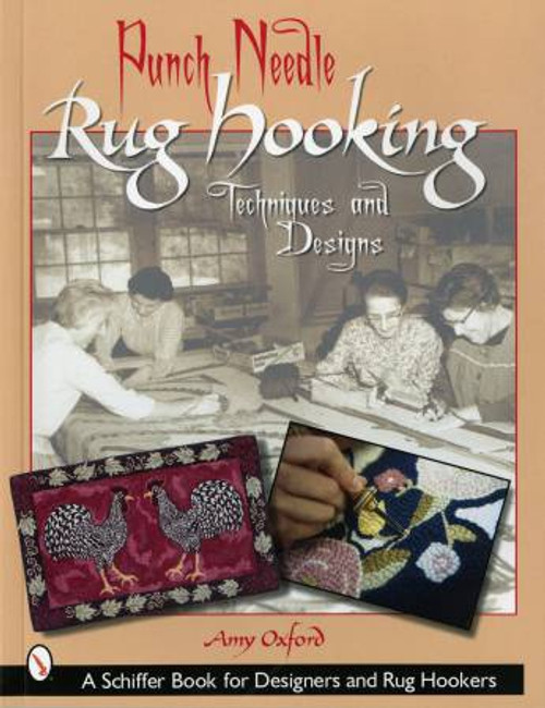 Punch Needle Rug Hooking Techniques and Designs