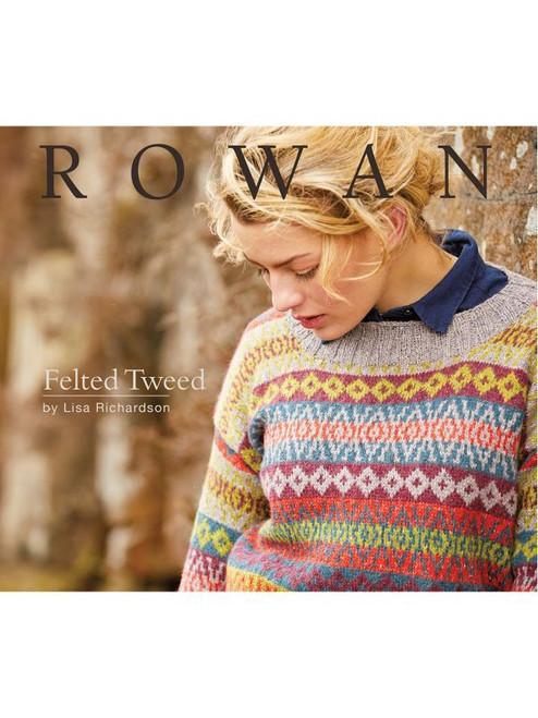 Rowan Book - ZB302 Felted Tweed by Lisa Richardson