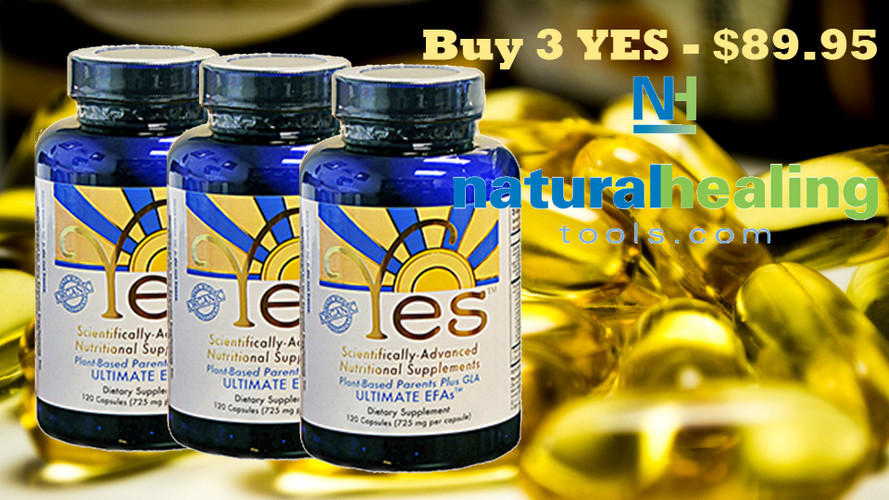Don't be fooled! Buy the real YES EFA Supplements!