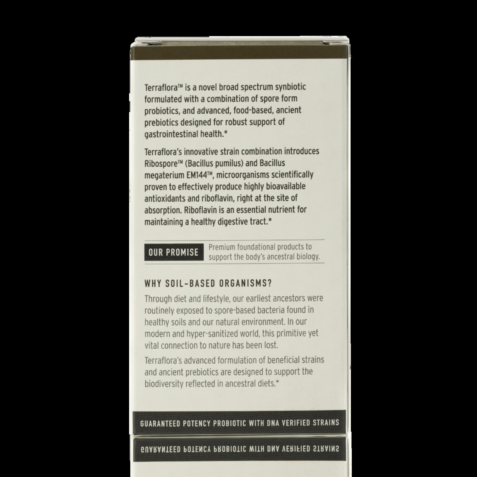 Terraflora Synbiotic Supplement, 60 count