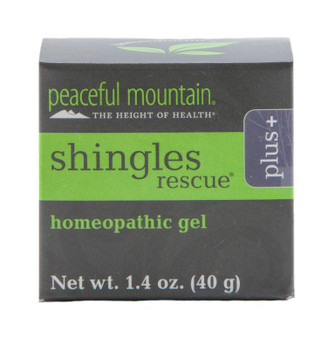 For many people, the shingles virus often causes extreme pain and discomfort and the search for a treatment to ease the suffering is frequently met with disappointment and continued agony. Shingles Rescue® Plus contains homeopathic components that may provide pain relief and healing support.Shingles Rescue Plus also contains specific herbs selected for their skin-soothing properties.