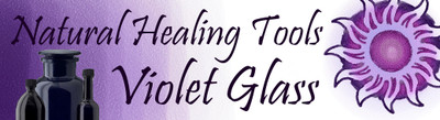 Violet Glass Solution to Store Cannabis