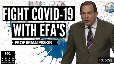 Brian Peskin on Enhancing Your Body's Ability to Fight the COVID 19 Virus with EFAs