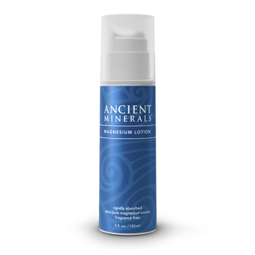 Ancient Minerals Magnesium Lotion is a smooth, quickly absorbed emulsion of magnesium chloride in a skin-nourishing base of certified organic oils. Formulated for even the most sensitive individuals, Ancient Minerals Magnesium Lotion offers a gentler concentration of magnesium chloride, while still supplying effective amounts of magnesium. Rich in plant moisturizers, this lotion soothes and hydrates without leaving your skin feeling waxy or greasy. It is fragrance free and does not contain any formaldehyde releasing preservatives.