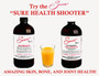Sonne's Sure Health Shooter:  Juice - apple, orange or cranberry. Your choice to what you can drink quickly 1 tablespoon #2 Calphonite™ : 1 teaspoon #5 Cod Liver  Do Not Mix Drink quickly