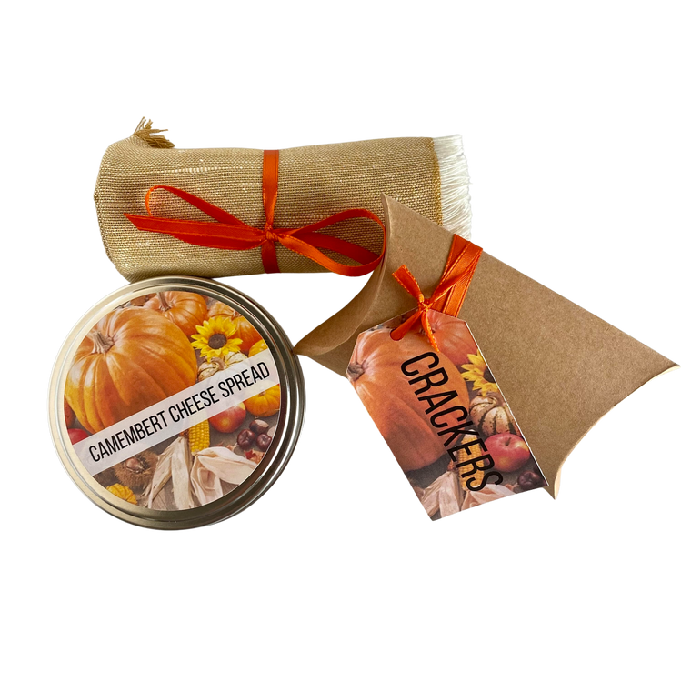 Fall Cheese and Cracker Set