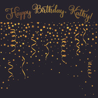 Birthday Template - Confetti