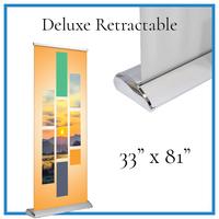"""Deluxe Retractable 33""""x81"""""""
