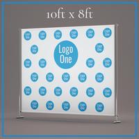 single logo non profit template for a 10x8