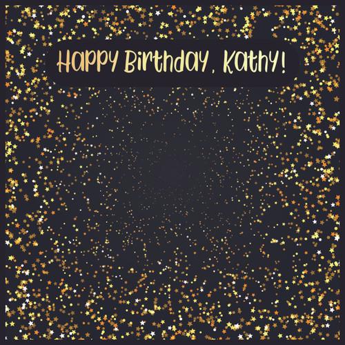 Birthday - Stars