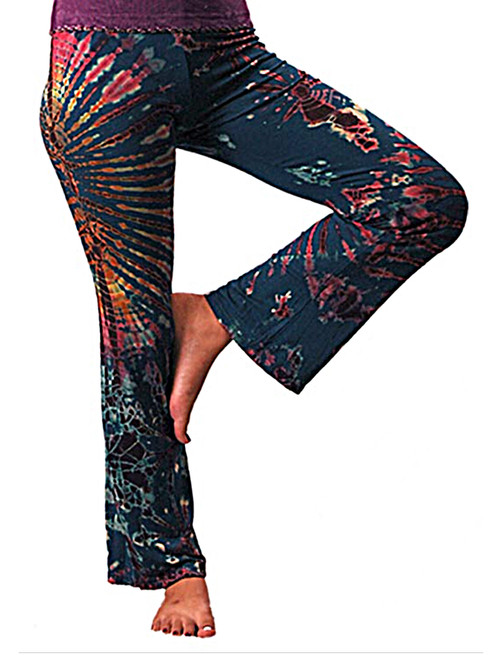 Happy Hippie Tie Dye Bell Bottom Pants