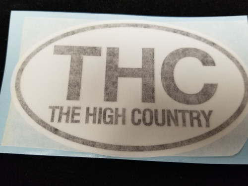 THC Sticker (The High Country)