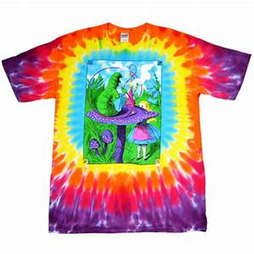 Alice in wonderland Tye dye t shirt