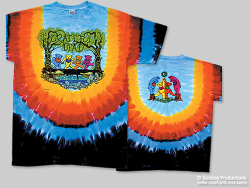 Wood Bears Tie Dye T Shirt