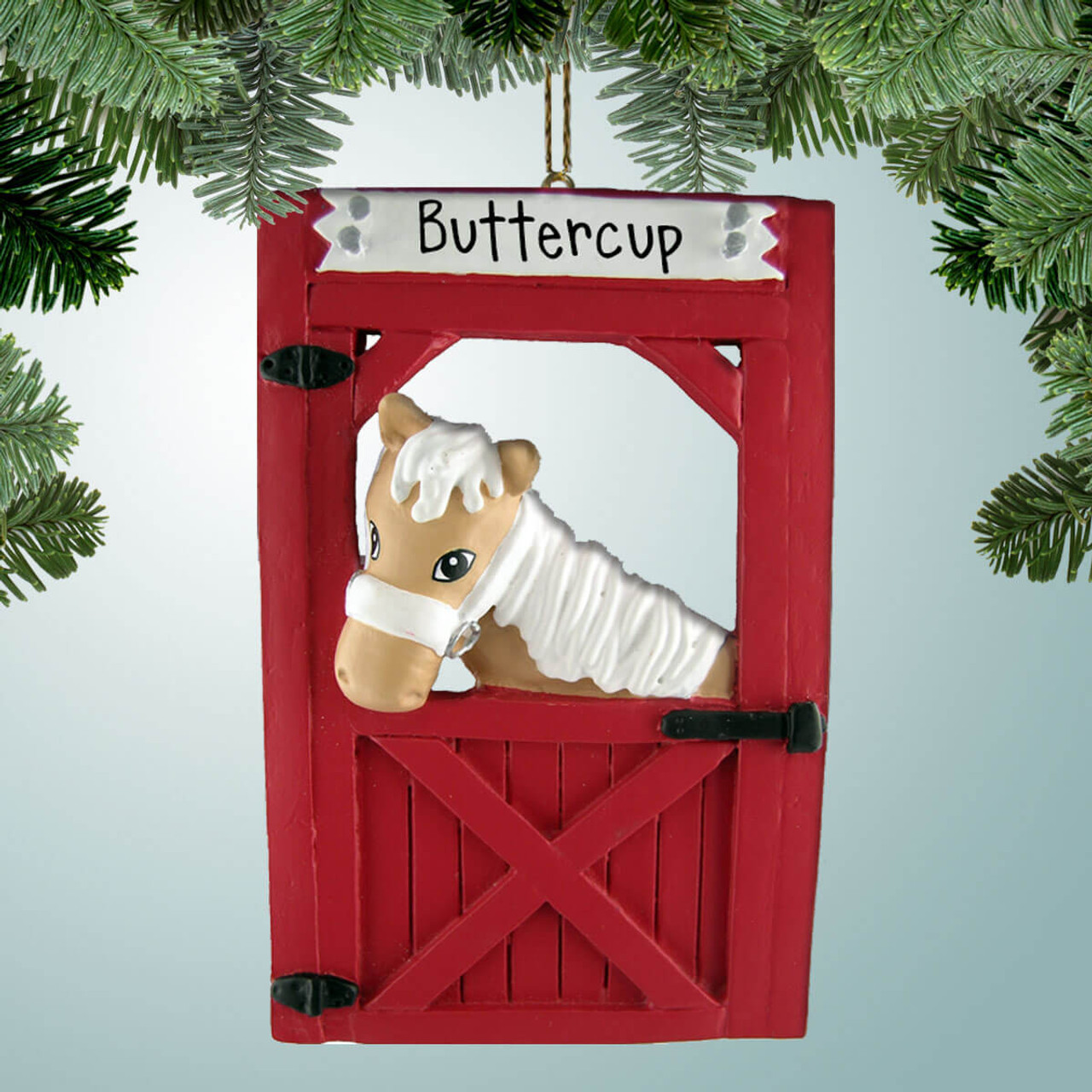 Personalized Ornaments For Riding A Horse