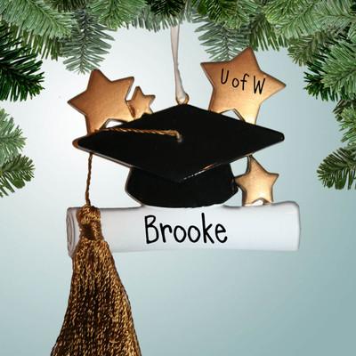 033ab27e0251cf Personalized Graduation Ornaments