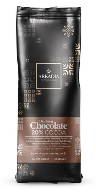 Arkadia Drinking Chocolate 20% Cocoa