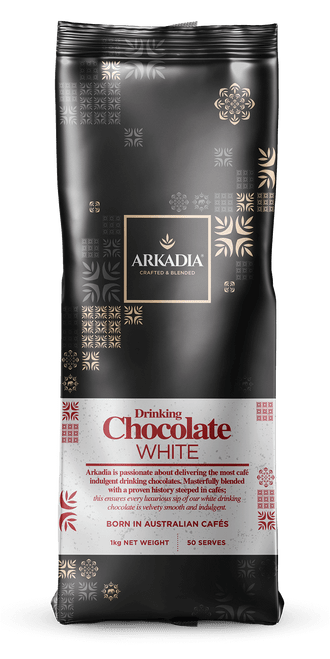 Arkadia 1kg White Chocolate Powder