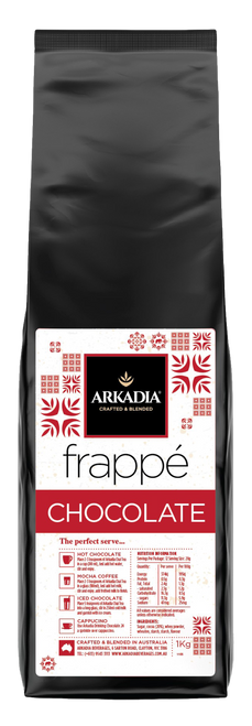 Arkadia 1kg Chocolate Frappe Powder