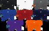 Ringor Softball Tie-Back Headband 8 color option view.