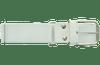 Ringor softball belt in white.