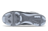 Ringor Dynasty 2.0 Cleat. Leather softball cleat bottom view of shoe.