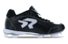 Ringor Dynasty 2.0 Cleat. Leather softball cleat. Left inside view.