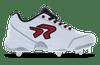 Ringor Bandit 2.0 softball spike. Left shoe inside view