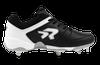Ringor Flite softball spike. Left shoe outside view.