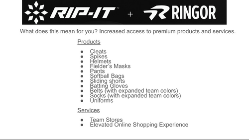 Ringor joins the RIP-IT team