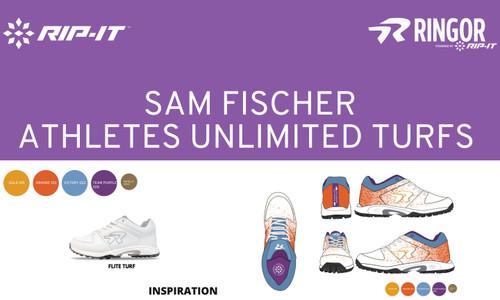 Pro Athlete Sam Fischer picks her custom cleats