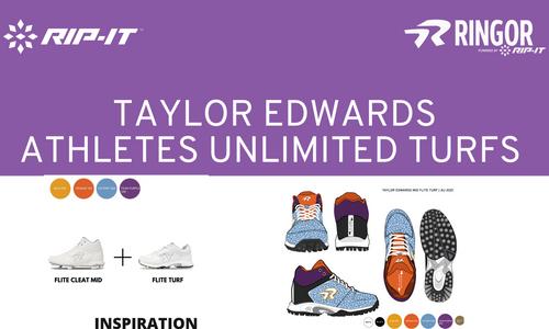 Pro Athlete Taylor Edwards picks her Custom Cleats