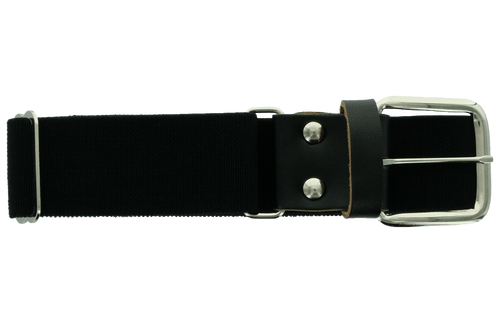 Ringor softball belt in black.