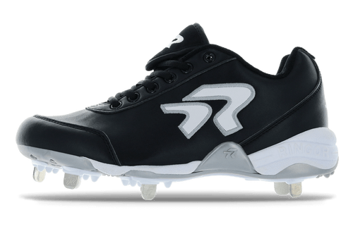Ringor Bandit 2.0 softball spike. Left shoe. Outside view. Wide