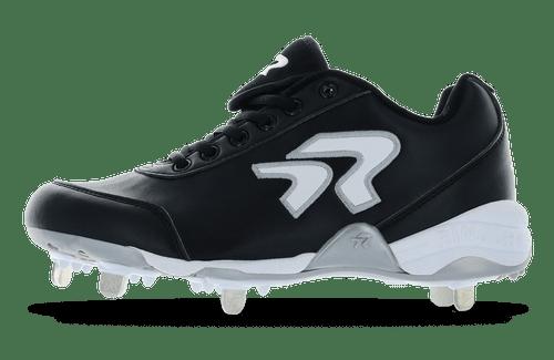 Ringor Bandit 2.0 softball spike. Left shoe. Outside view. Wide
