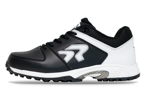 Ringor softball turf shoe for men in Black-White.