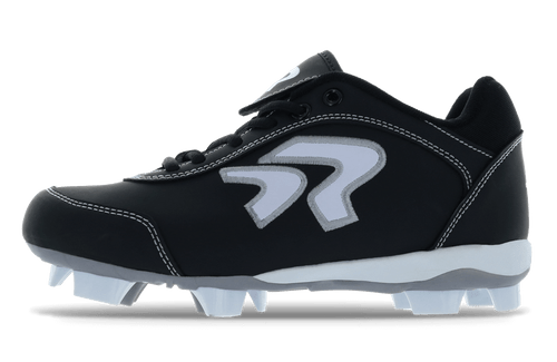 Ringor Dynasty Youth Cleat. Left shoe inside view.