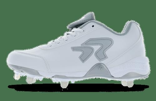 Ringor Bandit 2.0 softball spike. Left shoe. Outside view