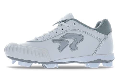 Ringor Dynasty 2.0 Cleat. Leather softball cleat with pitching toe.