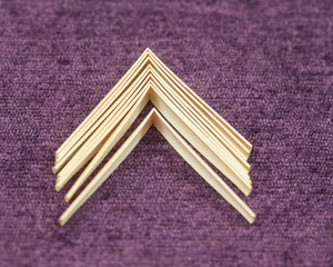 Madame Ghys gouged & shaped oboe cane (10 pieces)