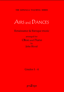 Airs and Dances, arr. Blood (Gonzaga Music)
