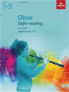 Oboe Sight-Reading Tests, ABRSM Grades 1–5