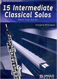 15 Intermediate Classical Solos - Oboe (Book & CD)