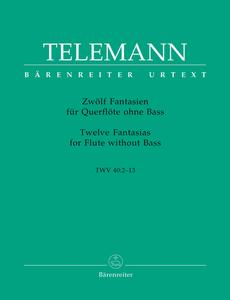 Georg Philipp Telemann: 12 Fantasias for Flute