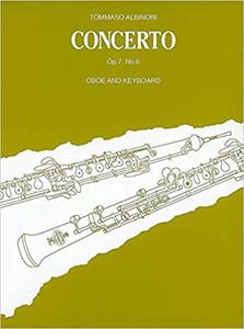 Tomaso Albinoni: Oboe Concerto Op7/3