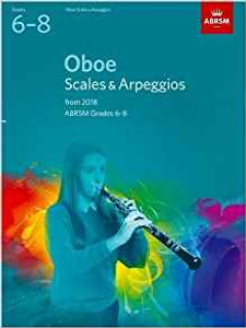ABRSM: Oboe Scales & Arpeggios, ABRSM Grades 6–8
