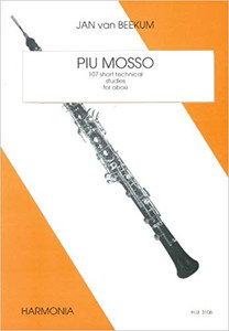 Beekum, Jan van: Piu Mosso: 107 Short Technical Studies