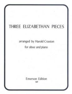 Three Elizabethan Pieces